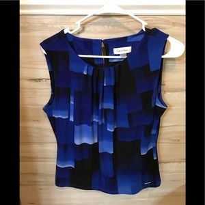 Calvin Kline Sleeveless Blouse